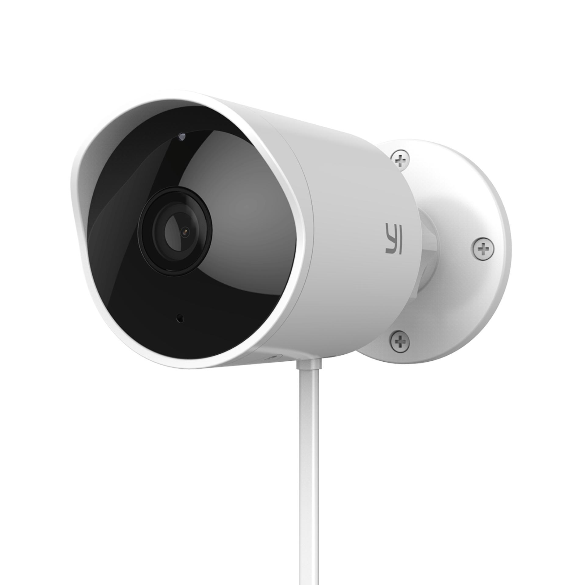 Yi Weatherproof Outdoor Camera FHD 1080p (White)