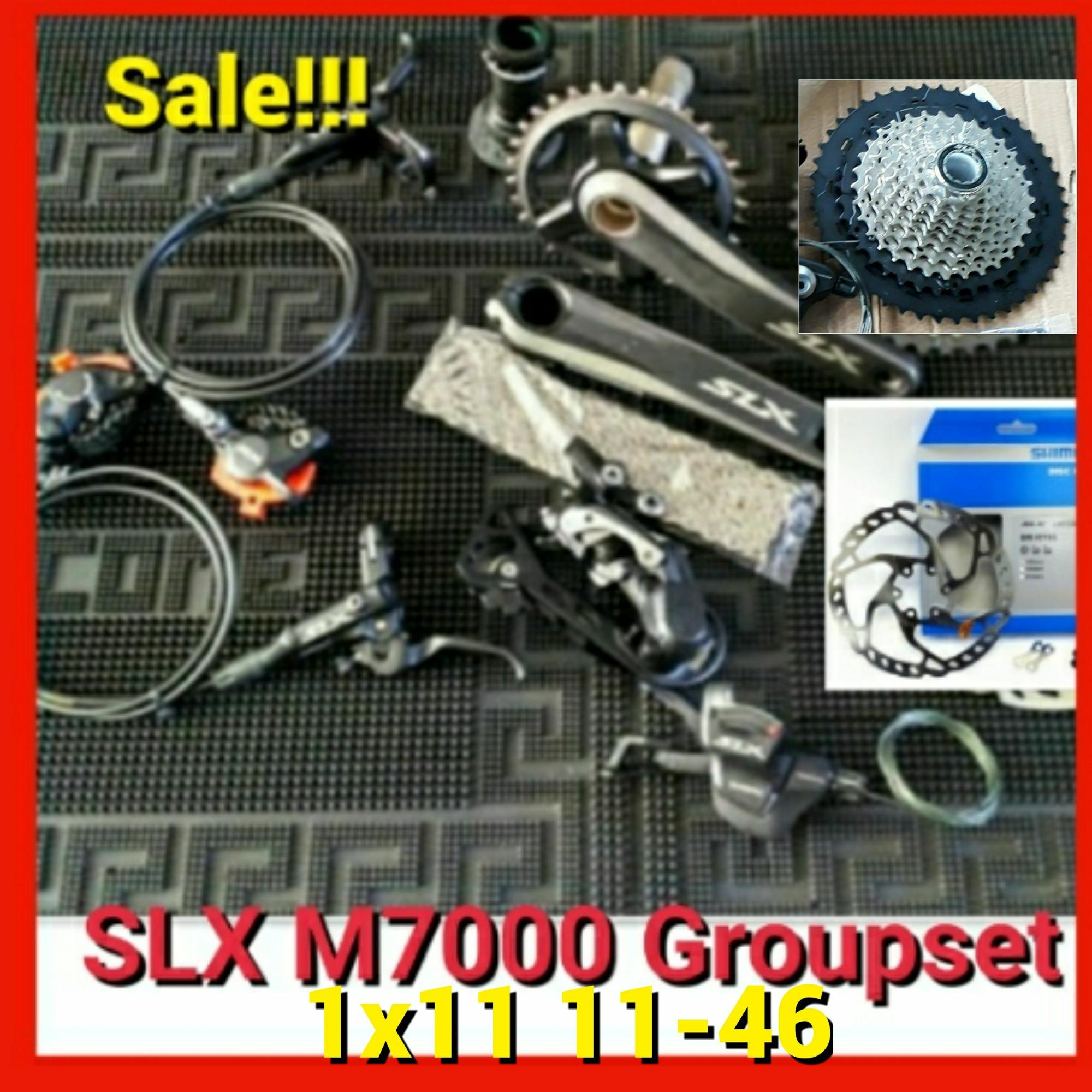 Shimano Philippines Bike Parts For Sale Prices Reviews Groupset Alivio 9 Speed M4000 Slx M7000 1x11 11 46