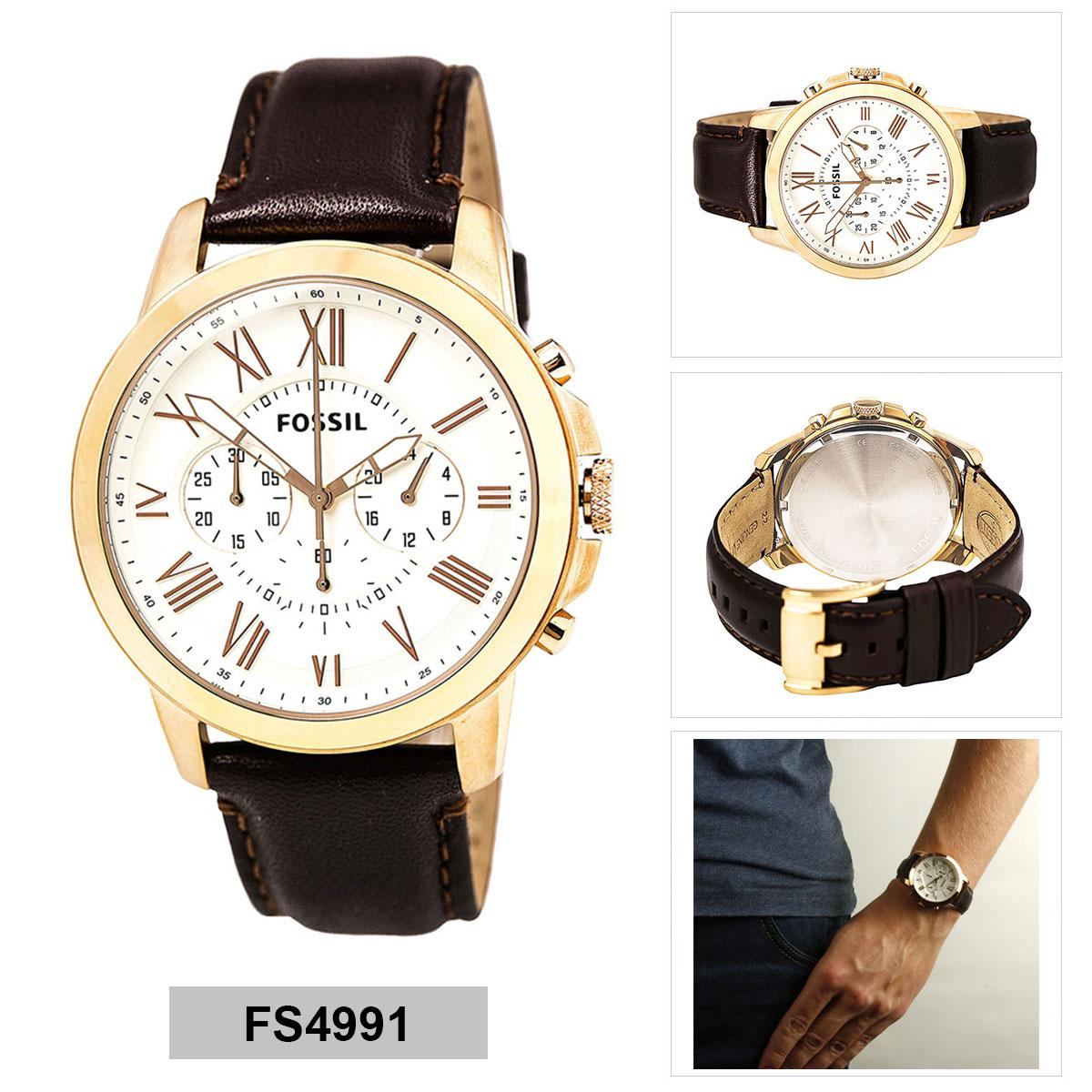 Sell Fossil Grant Beige Cheapest Best Quality Ph Store Cecile Multifunction Sand Leather Watch Am 4532 Jacqueline Es3793php4934 Php 4970