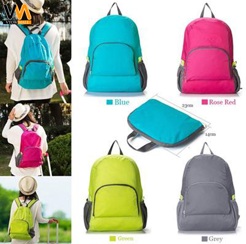 ab1ab7137434 Philippines. Lightweight Nylon Travel Backpack Waterproof Foldable Bag