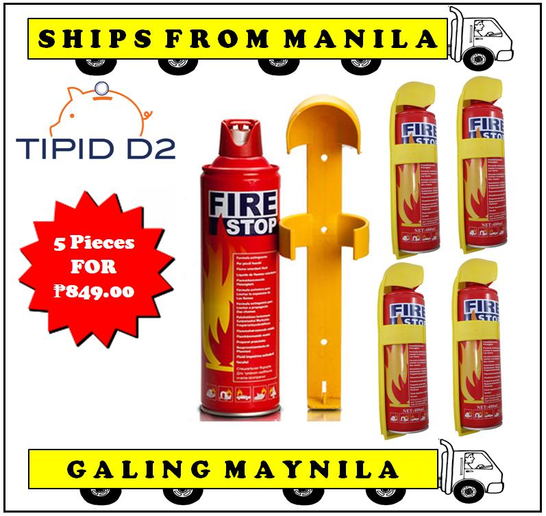 Car Fire Stop Fire Extinguisher Set Of 5 By Tipid D2.