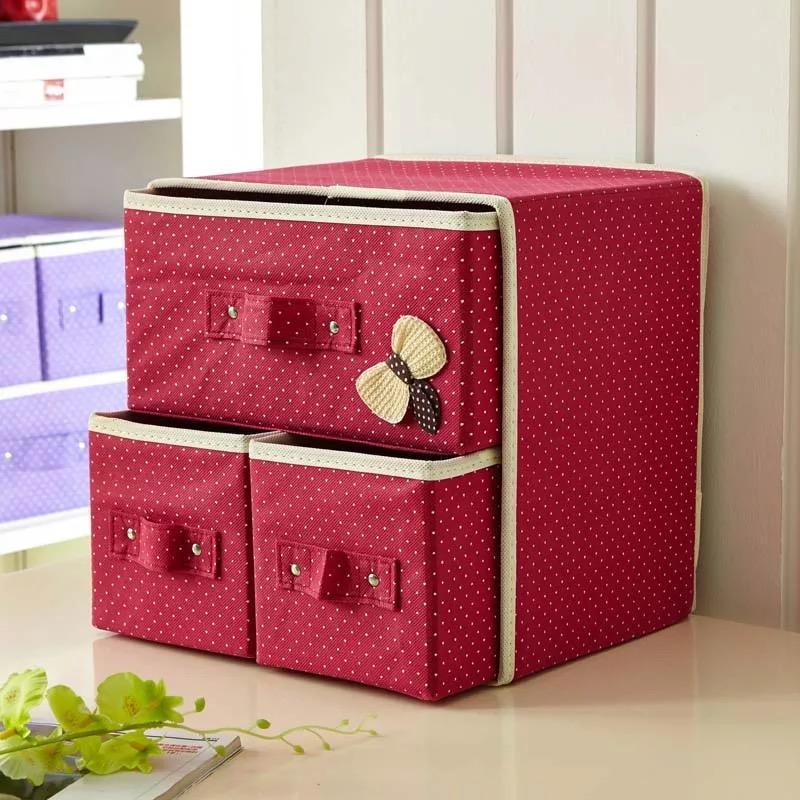 c602b3ec641d1 Foldable Storage Box Drawer Closet Dresser Organizer Cube Basket Bins  Containers
