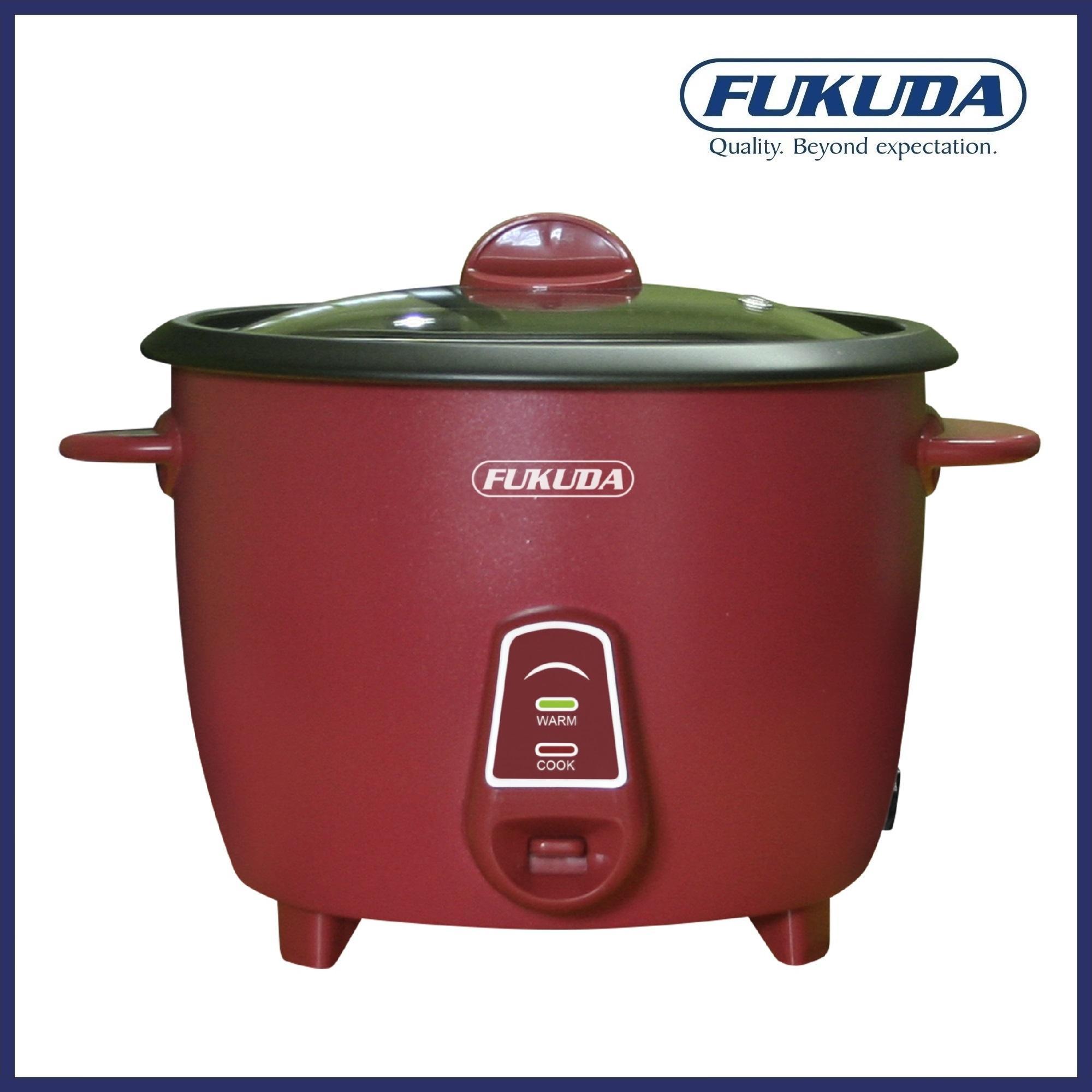 Fukuda FRC815M 8 Cup Matte Finish Drum Type Rice Cooker 1 5L Fuchsia