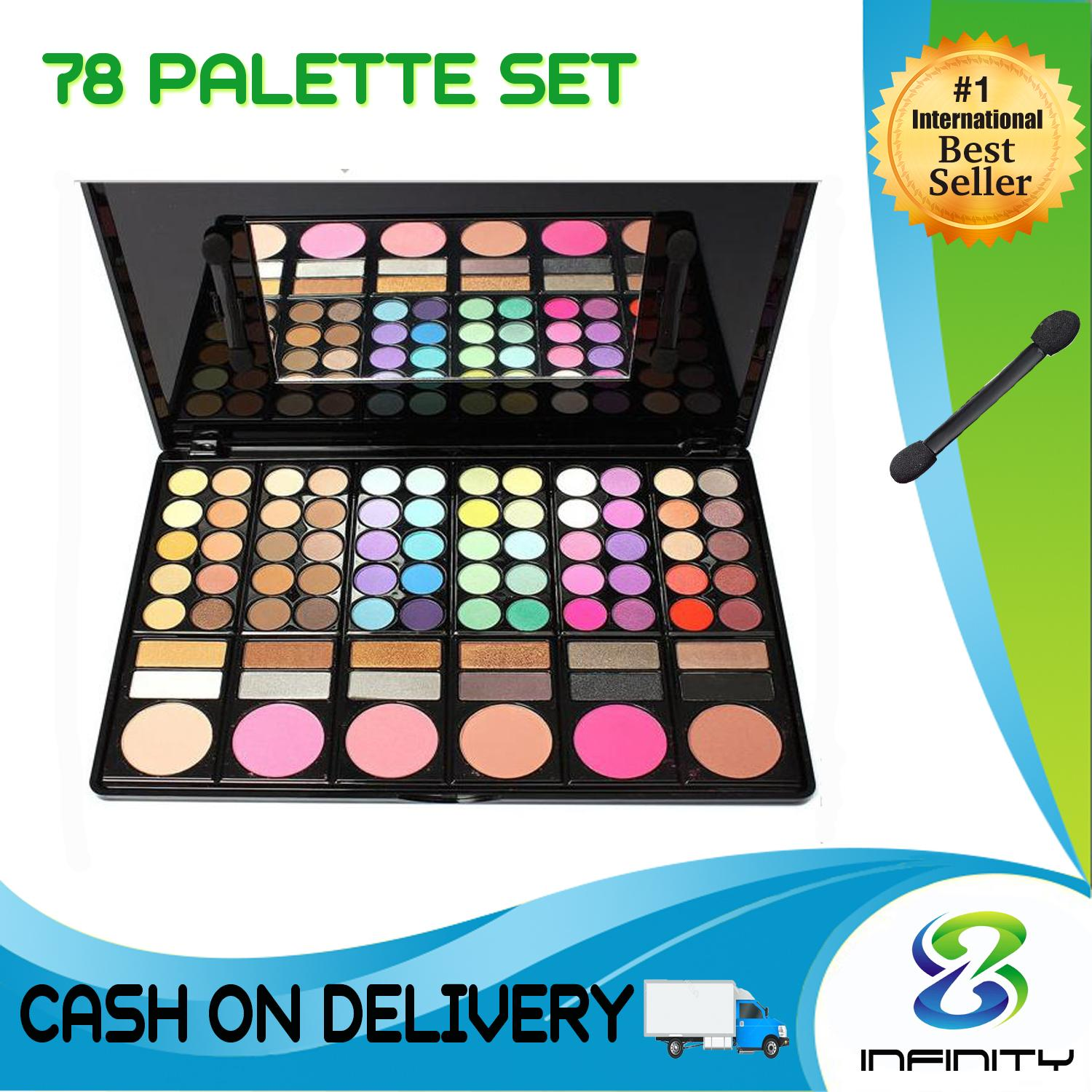 78 Palette Professional Makeup Eyeshadow Set Philippines