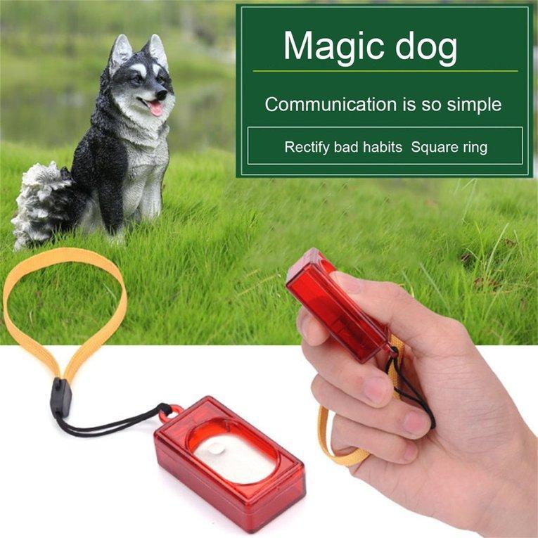 Mini Rushed Ultrasonic Dog Pet Click Clicker Training Trainer Pet Supplies