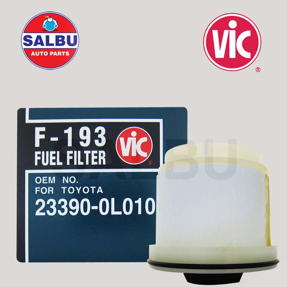 Buy Sell Cheapest Toyota Hilux Fuel Best Quality Product Deals Isuzu Filters Vic Filter Element F 193 For Dmax Mu X 4jh1
