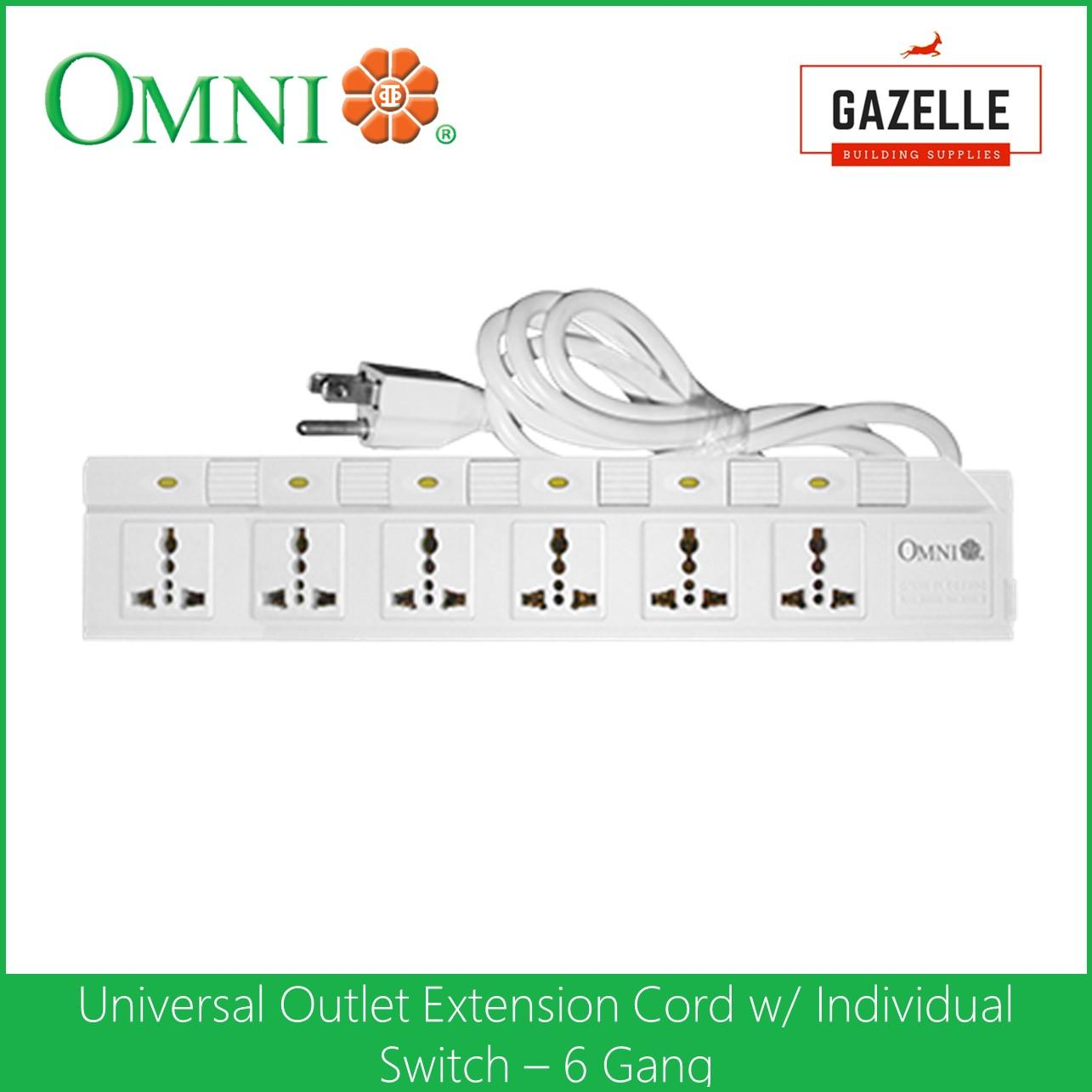 Omni Philippines Electrical Equipment For Sale Prices Handyman Usa Wiring A 3way Or 4way Switch Extension Cord Set With Individual 6 Gang Wed 360
