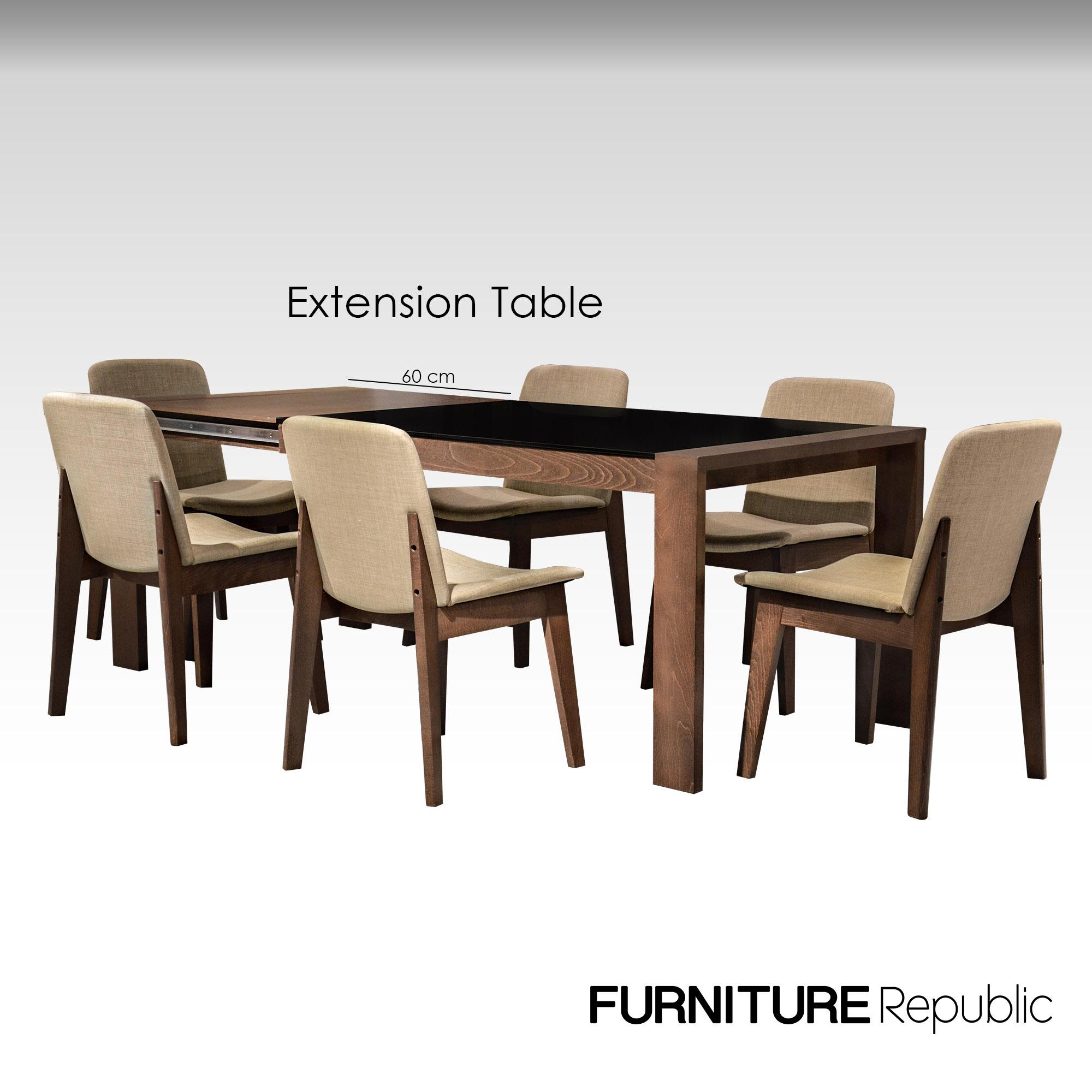 Furniture Republic Extension Dining Set FDS67036S (6-Seater) 62a18c1570