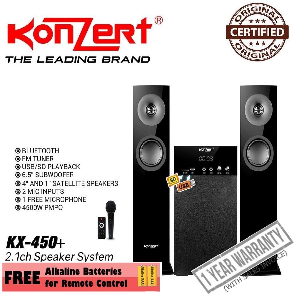 Konzert Kx-450+ Multimedia Speaker System By Joelites General Merchandising.