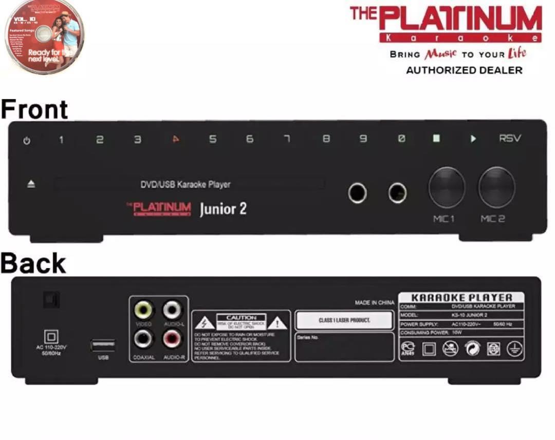 platinum karaoke junior 2 ks10