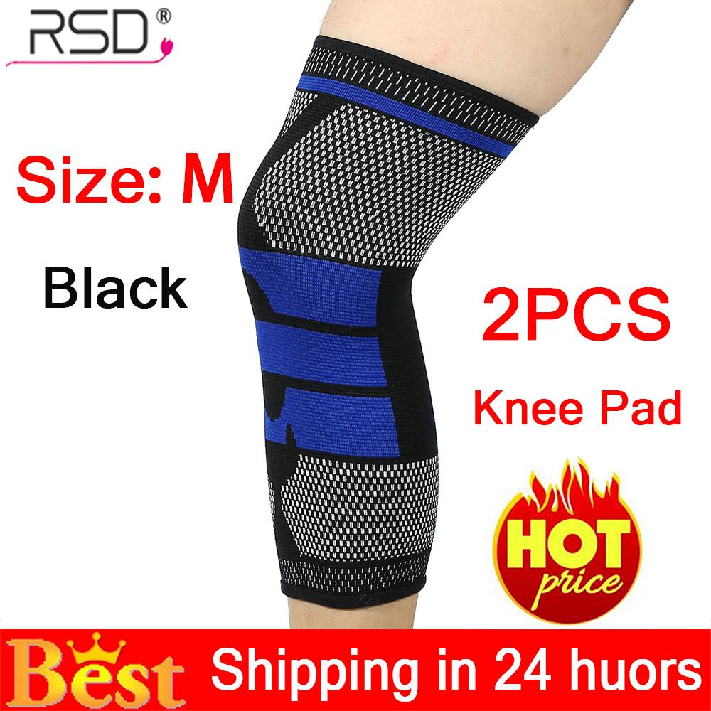 【Limited Time Promotions】2PCS Sport Knee Sleeve Protector Wrap Support Pad Work Up Basketball