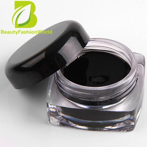 Fabulous 1pc Professional Black Eye Liner Gel Mascara + Eyeliner Brush Makeup Waterproof - intl Philippines