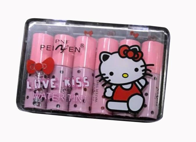 HK Love Kiss Water Lip Tint Color Liptint 6 Pieces Lipstick Set Philippines