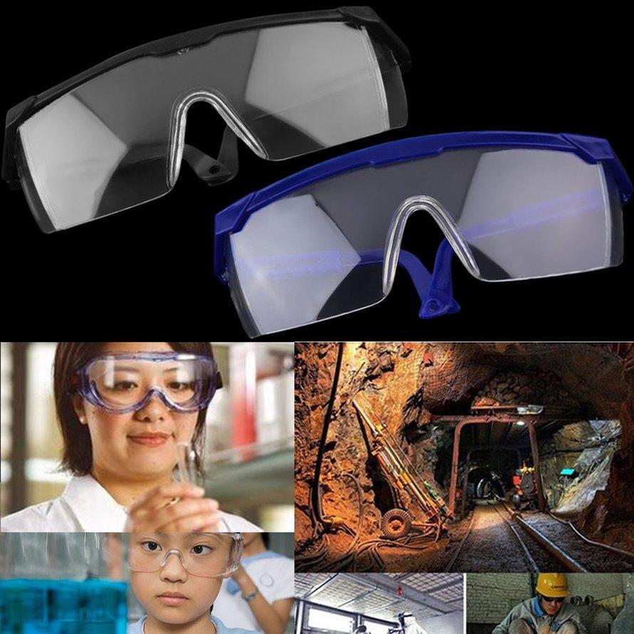 OSMAN Work Safety Eye Protecting Glasses Anti-Splash Wind Dust Proof Glasses