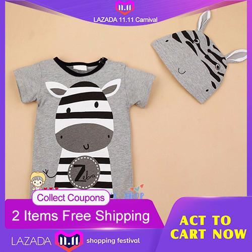 SDP Newborn Baby Rompers Summer Style Baby Girls Clothes 2pcs Animal Cartoon Infant Jumpsuits Ropa Bebes