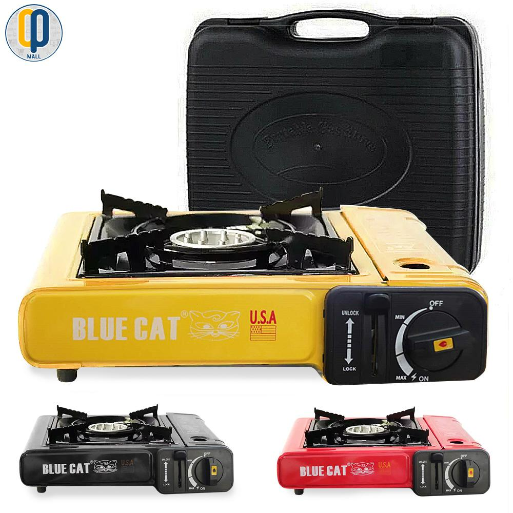 Blue Cat Portable Butane Gas Stove By Op Mall.