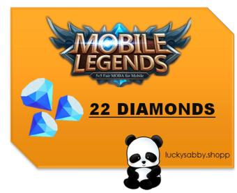 MOBILE LEGENDS 22 DIAMONDS