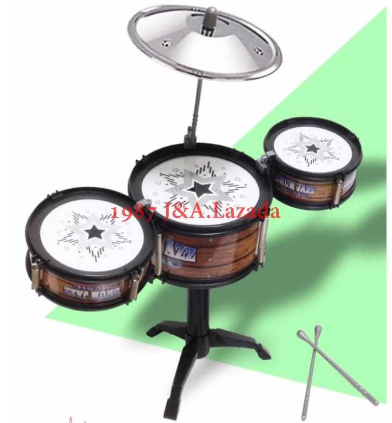 1987- Kids Toys Jazz Drum Set Musical Instrument Toy Early Educational Toy  Drums   Percussion 5cb4ed793