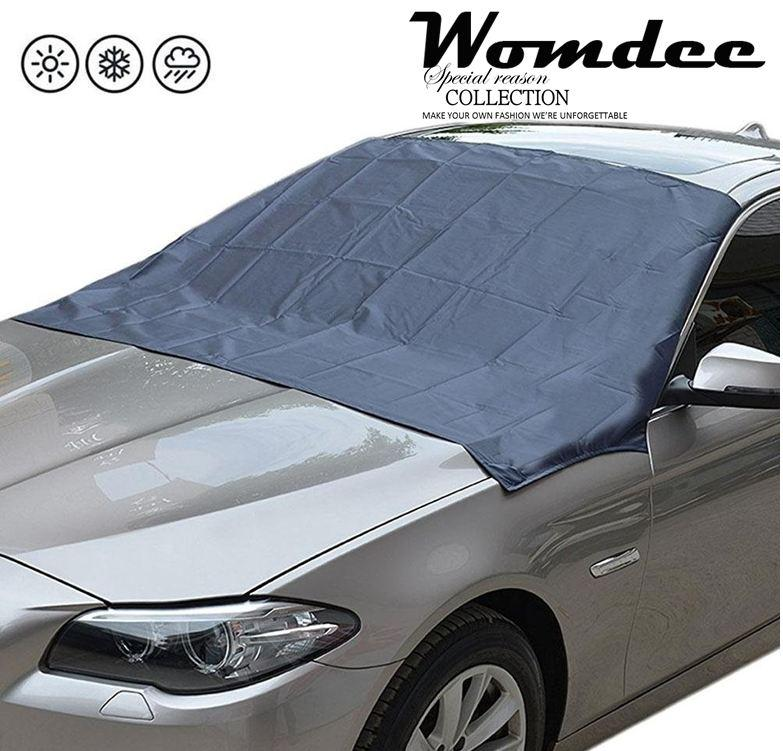 Womdee Universal Magnetic Car Protector Cover Windshield Anti Snow Ice Sunshade Cover - intl