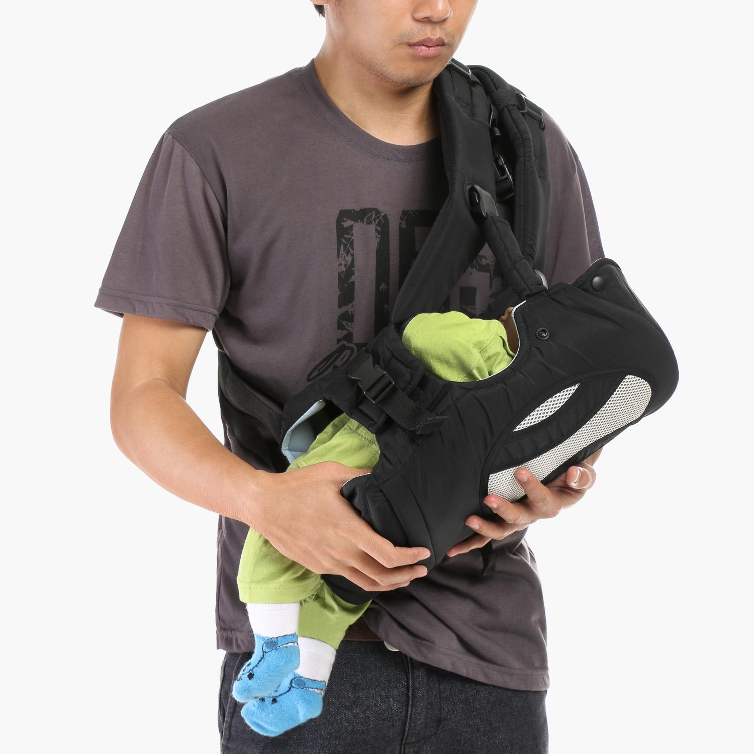 Picolo 4-in-1 Soft Carrier (Black)