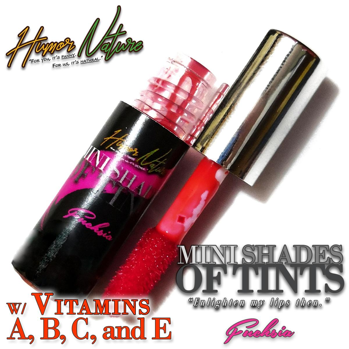 MINI Shades of Tint Organic and Natural Lip & Cheek Tint (Liptint) with Vitamins A, B, C, and E by Humor Nature (1.2mL) Philippines