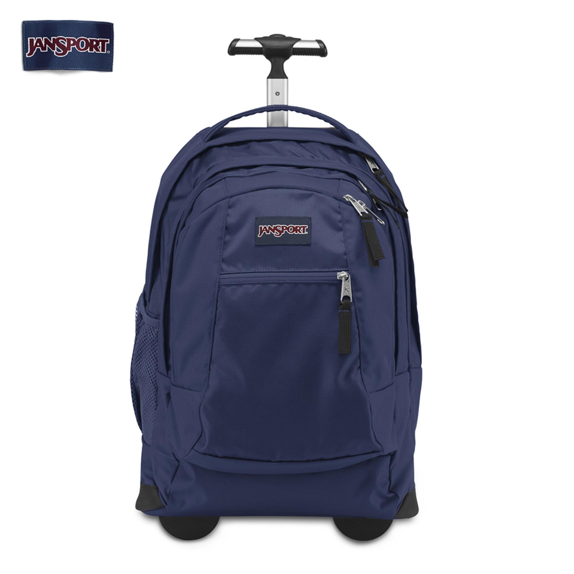 Jansport Unisex DRIVER 8 600 DENIER POLYESTER Backpack Trolley d55c0d5437166