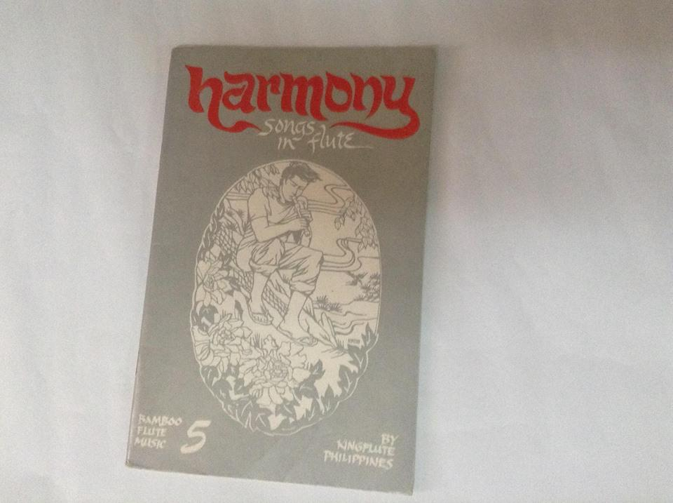 Kingflute Harmony Music Book 5 (grey) By Bamboo Instruments And Bamboo Products.