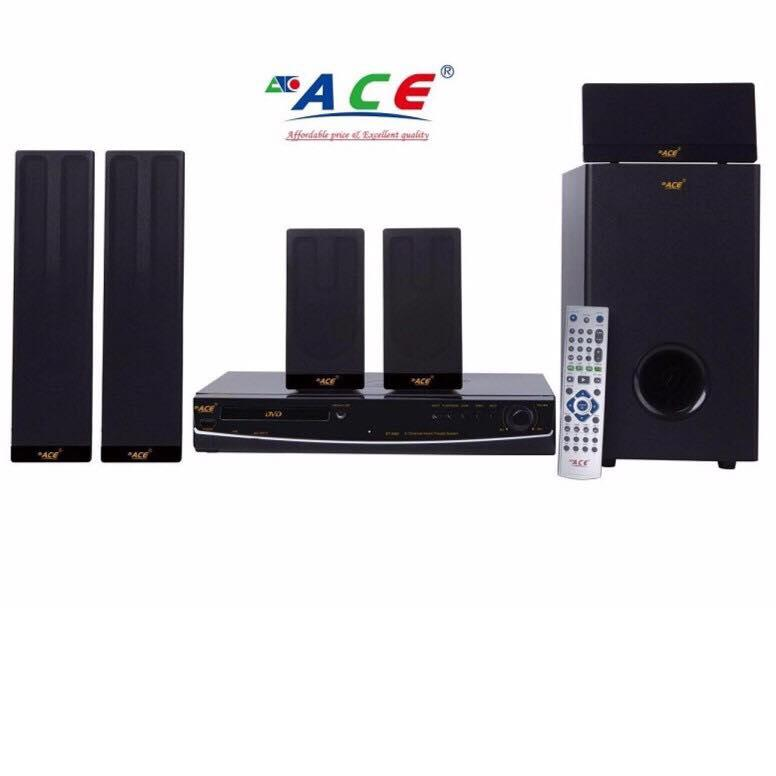 Ace Bt-9980 100watt 5.1channel Bluetooth Home Theater System With Full Hd Multi-Format Dvd Player By Ace Electronic Shop.