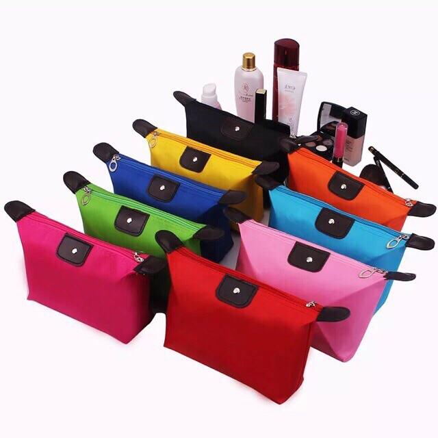 COD Ladies Korean Waterproof Pouch Cosmetic Bag Cosmetic Purse Travel Philippines