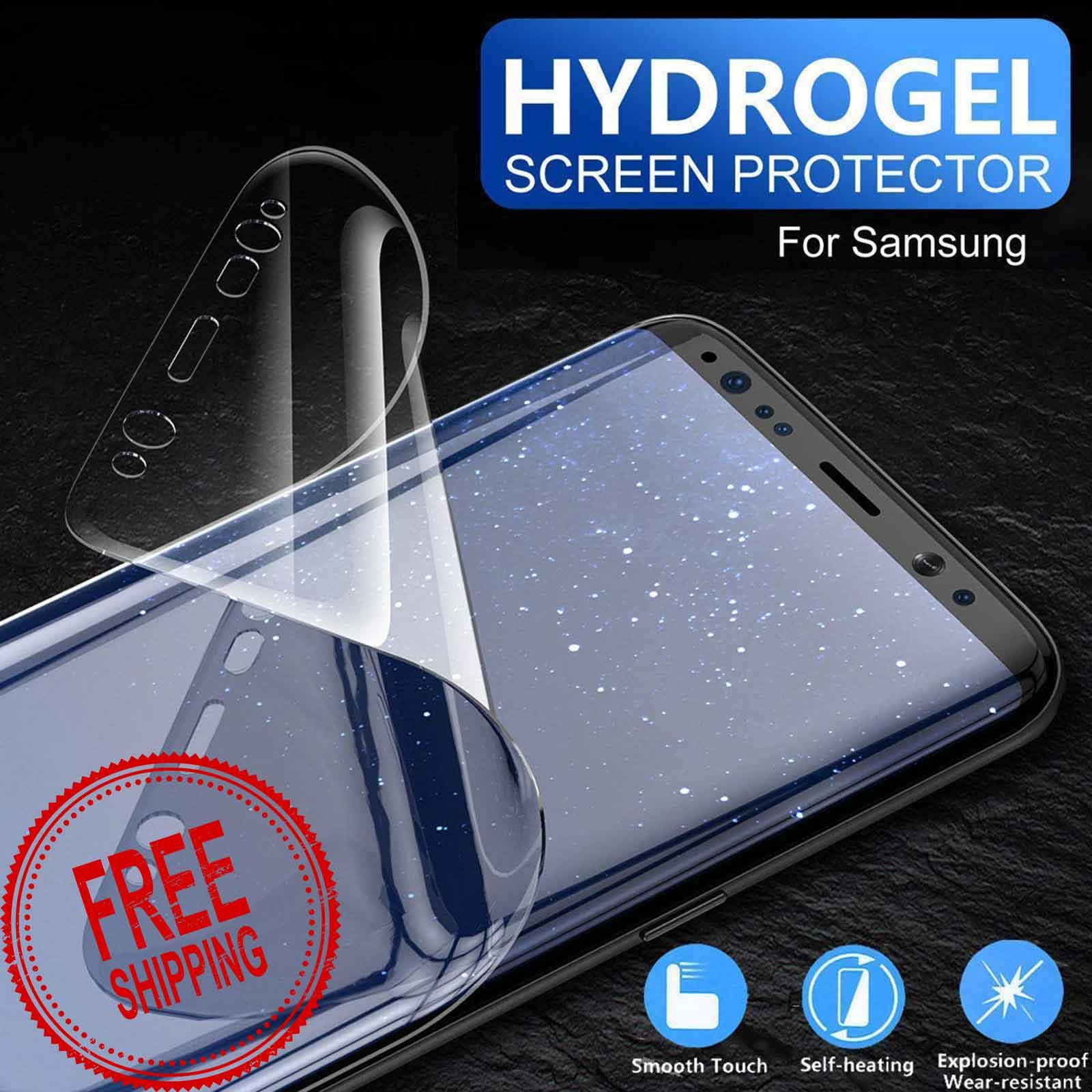 Hydrogel Film Front Full Screen Protector for Samsung Galaxy S9 Plus / S9 / S8 Plus
