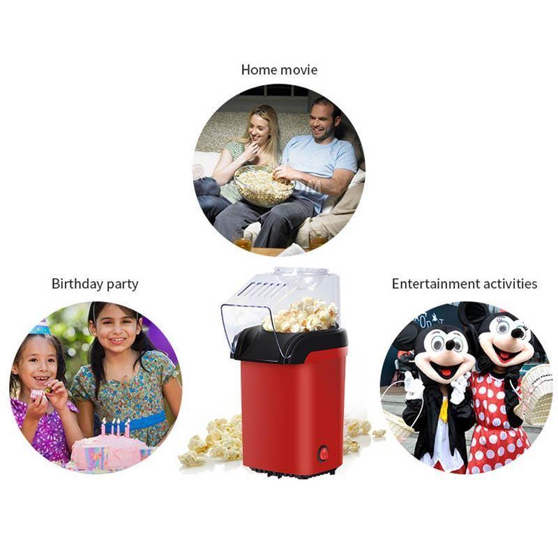 Cee8 Mini Hot Air Popcorn Machine Snack Maker By Cee8 Shop