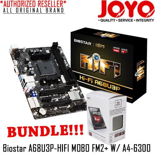 Biostar A58M Ver. 6.1 AMD Chipset New