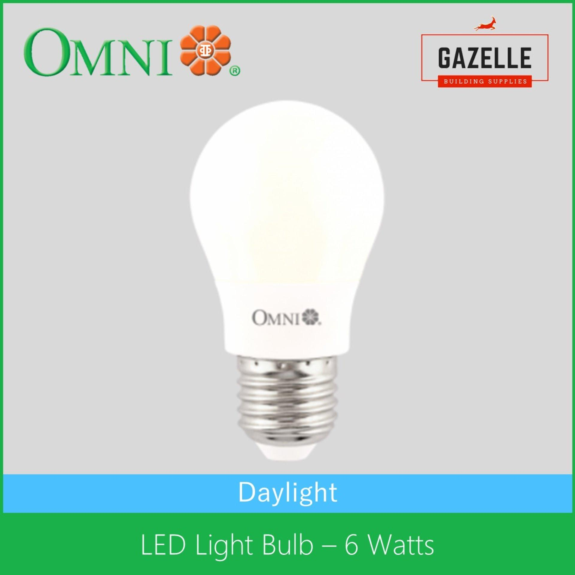 Omni Philippines Price List Light Fan Lamp Bulb Wires Wiring Fluorescent Fixtures Led Lite Daylight 6 Watts