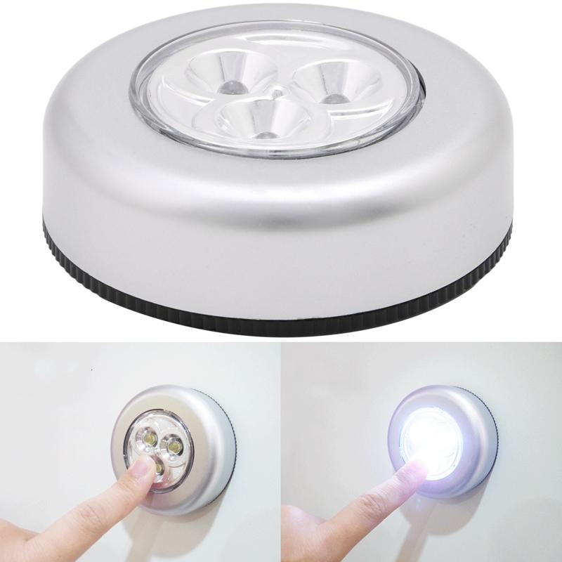 Mini Touch Light 3 LED Cordless Battery Operated Light Stick Lamp Philippines