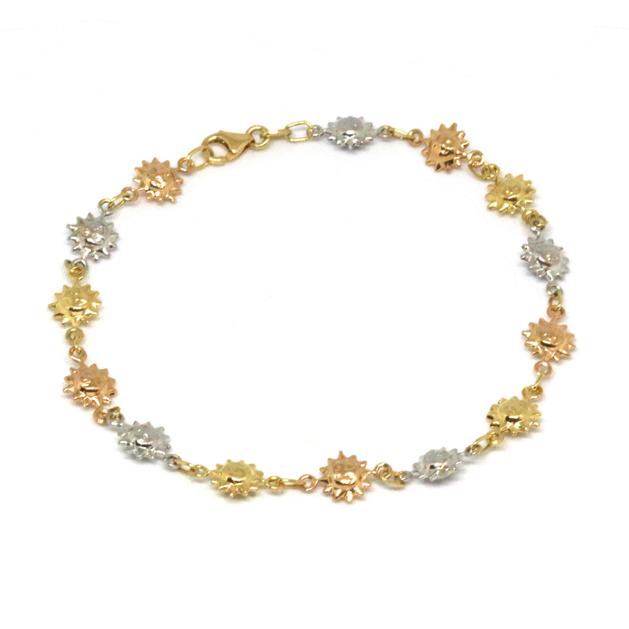 bracelet gold loulou de anklet la falaise crystal large orange pearl and by pebble loading plated