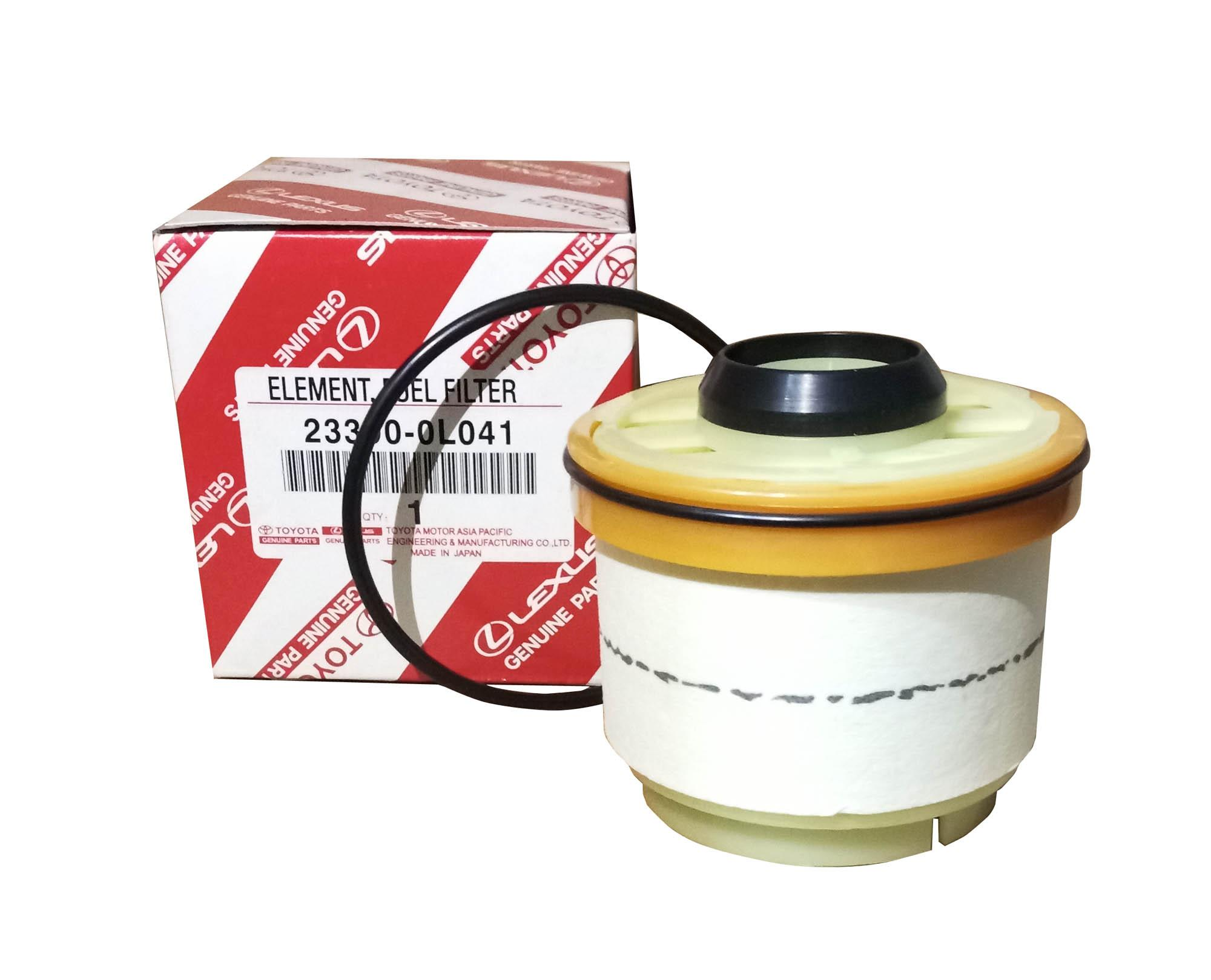 TOYOTA Genuine Parts Fuel Filter 23390-0L041 for Toyota Innova/ Fortuner /  Hi-