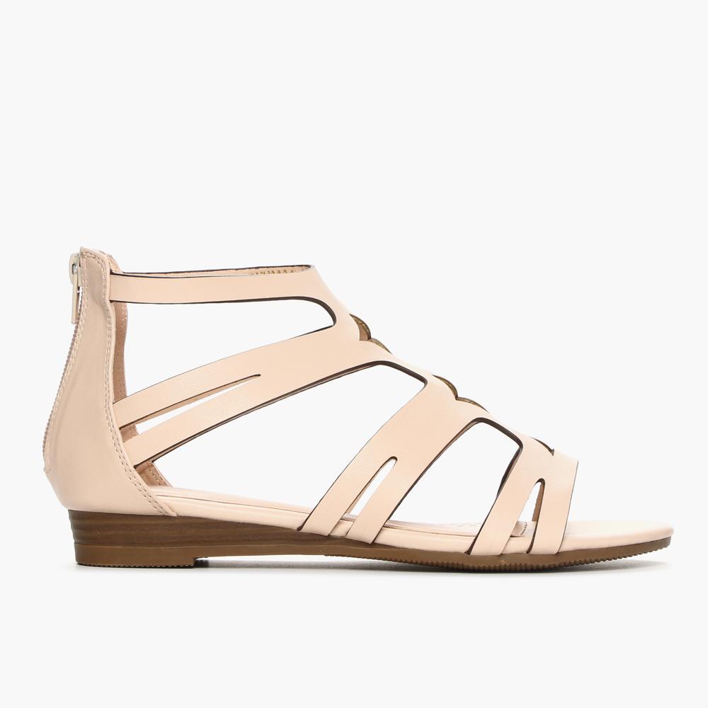 Gibi Ladies CNN 8304 Gladiator Sandals (Beige)