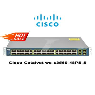 Cisco Catalyst ws-c3560-48PS-S POE switch