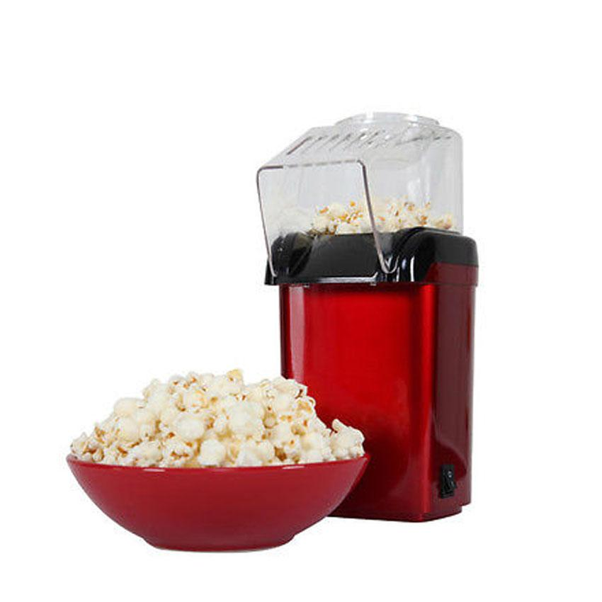 Mini Hot Air Popcorn Machine Snack Maker (red) By Mirana.