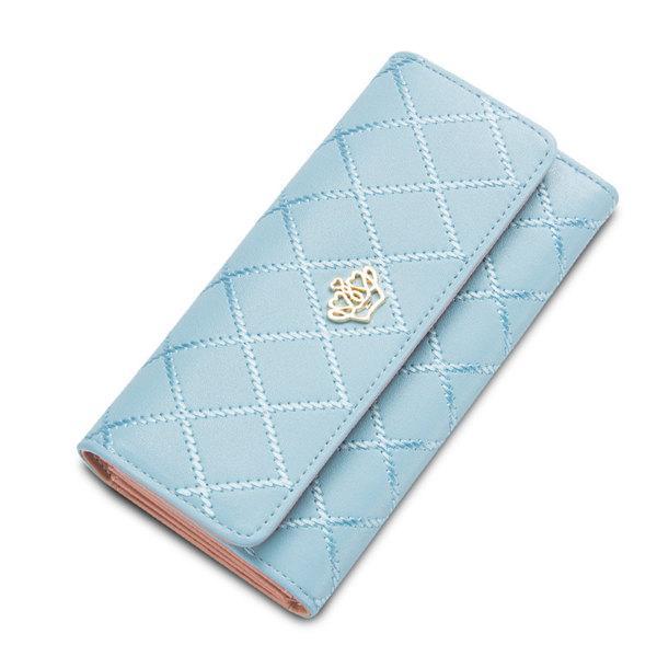 Baellerry Wallet Women Credit Card Holder PU Fashion Mobile Phone Woman Wallets Purse Long Clutch Female