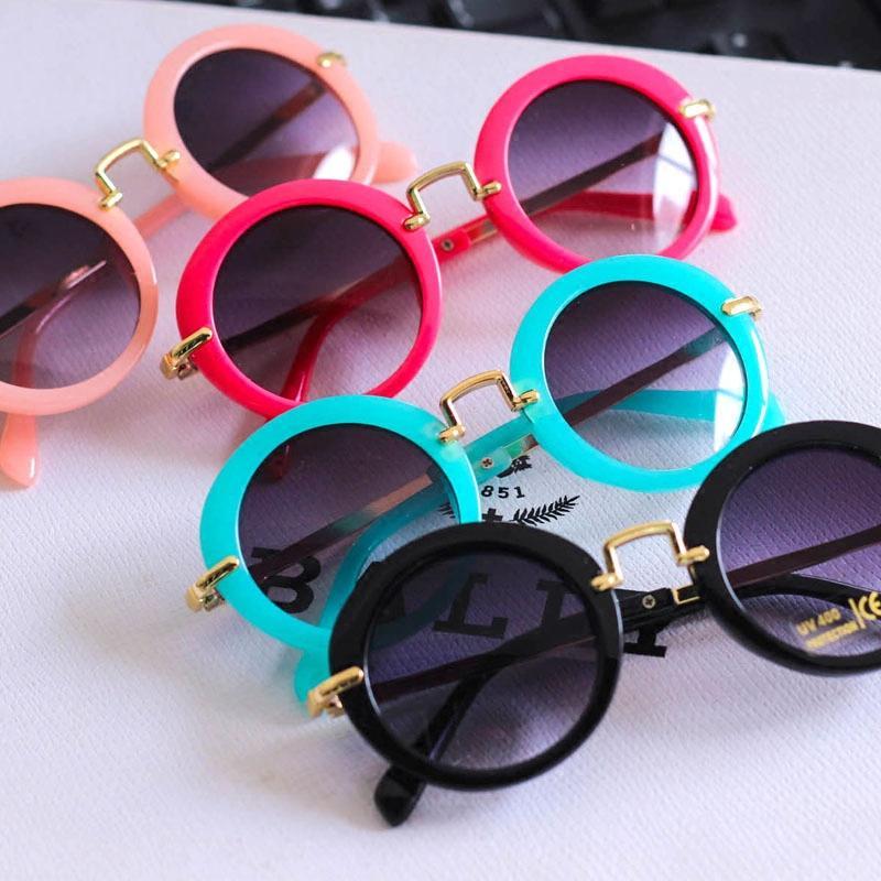 374b0f06fbb Children Sunglasses Vintage SUN Glasses Circle Prince Glasses Baby Shanghai  Robam Mirror Children Glasses