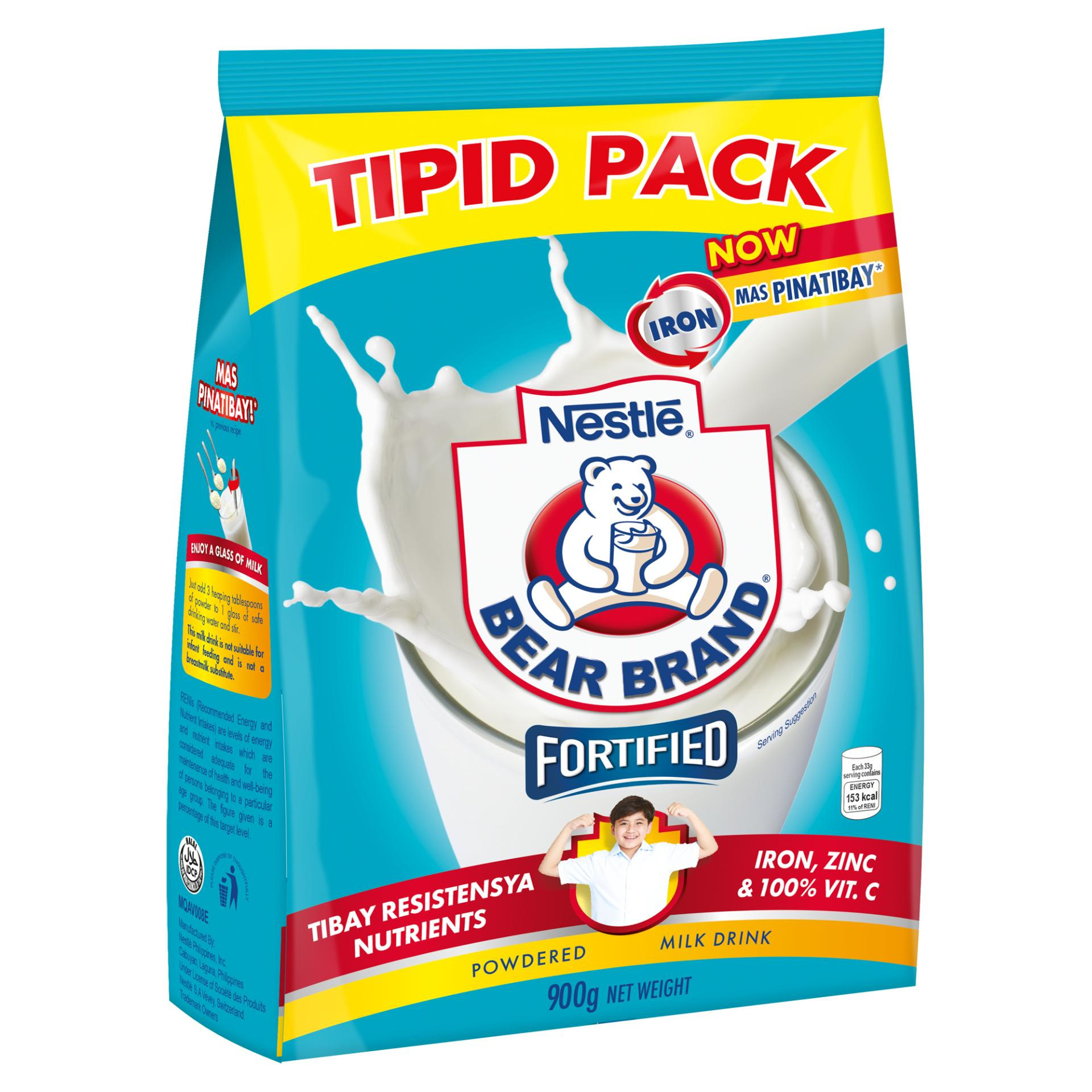 Bear Brand Powdered Milk Drink 900g Free 4 Pcs Bear Brand Choco 29g By Nestle Official Store.