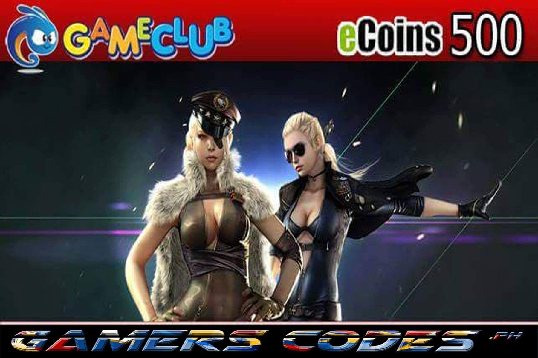 Philippines | Where to sell Gameclub ecoins 500 check price - Only ₱444