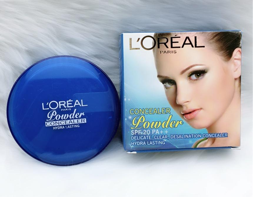 #911 Loreal pairs 2-in-1 Concealer With Powder Philippines