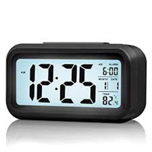 Smart Backlight Digital Alarm Clock With Dimmer Temperature Low Light Sensor Morning Clock By Fashion.lee.