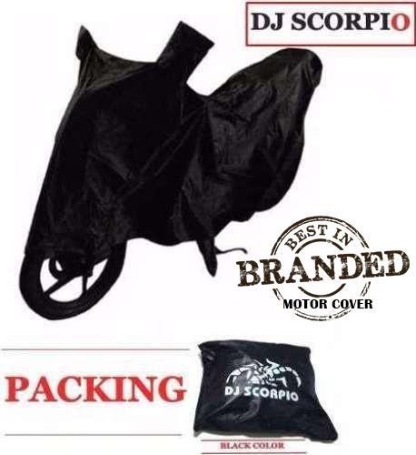Dj Scorpio Waterproof Motorcycle Cover (l-Black) By Guru Mehar.