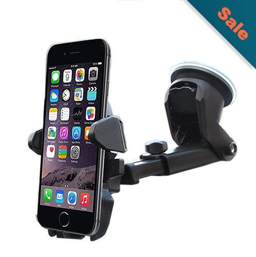 47b60701ef7e2 Universal Car Holder Car Stand Long Neck Mobile Phone Holder 360 Rotation  Mobile phone Sucker Easy