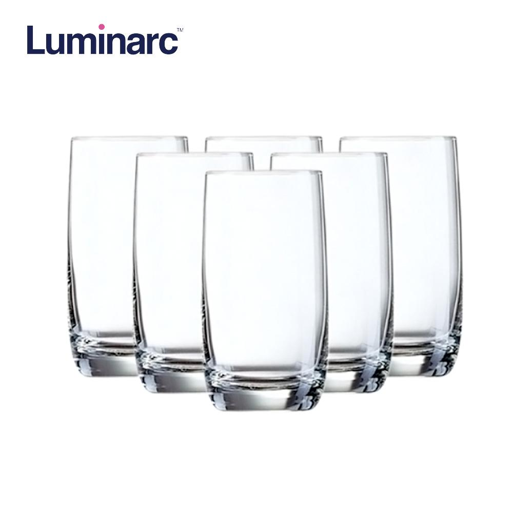 Luminarc Vigne Heat Resistant and Dishwasher Safe Drinking Water Juice Glass Tumbler Tumbler 35cl 6pcs