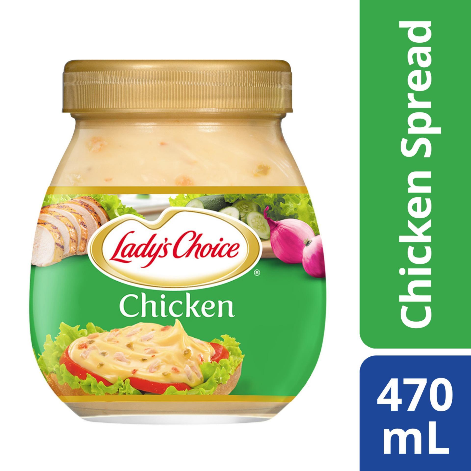 Ladys Choice Chicken Sandwich Spread 470ml By Unilever Foods.