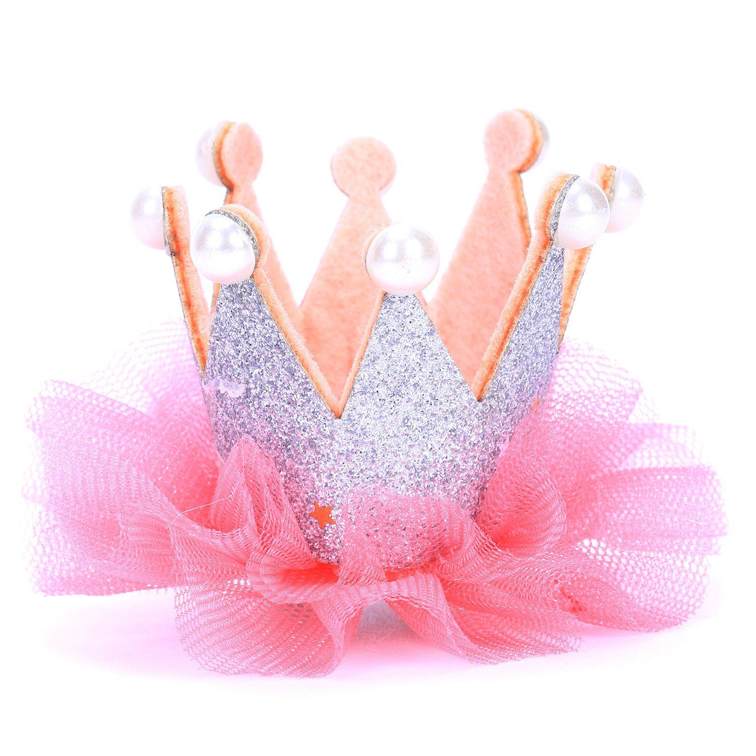 Crown Pet Dog Clip Princess Pet Grooming Dog Hair Clip Pet Dogs Hair Accessories For Small